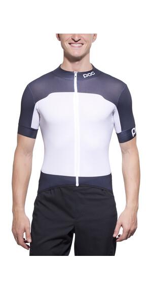 POC Raceday Climber Kortærmet cykeltrøje Herrer blå/hvid